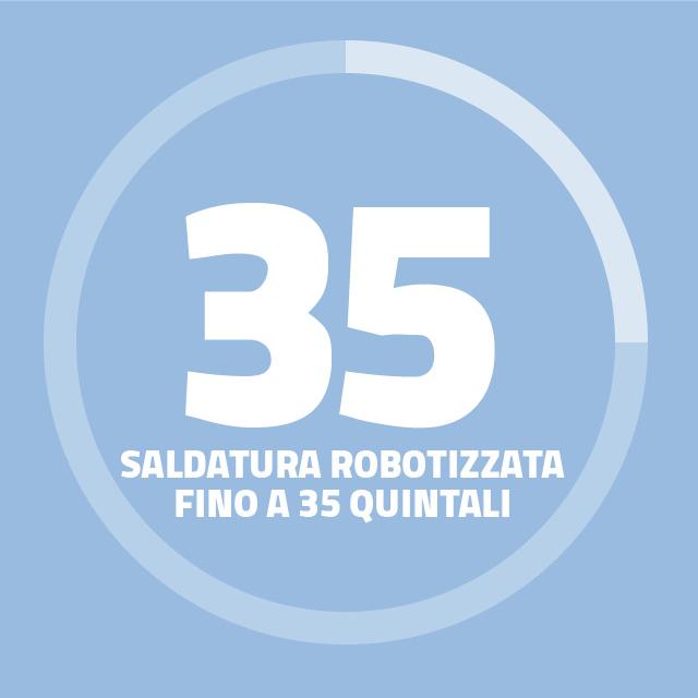 Industrie TCM _ Saldatura robotizzata fino a 35 quintali 1