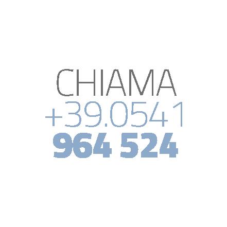 Chiama +39.0541964524